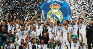 Real Madrid se coronó como campeón de la Champions League 2018