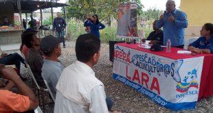 Ministro de pesca y acuicultura respaldó a los productores larenses