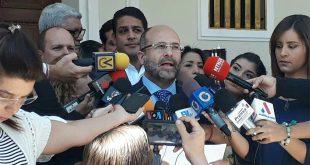 AN exige apoyo de países de la OEA para lograr condiciones electorales