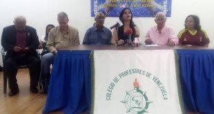 21JUN-Colegio-de-Profesores-de-Venezuela.-Educación.