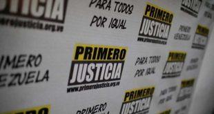 """El partido Primero Justicia rechaza vinculación a hechos """"violentos y dudosos"""""""