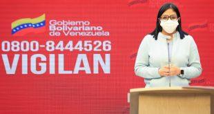 Vicepresidenta Delcy Rodriguez