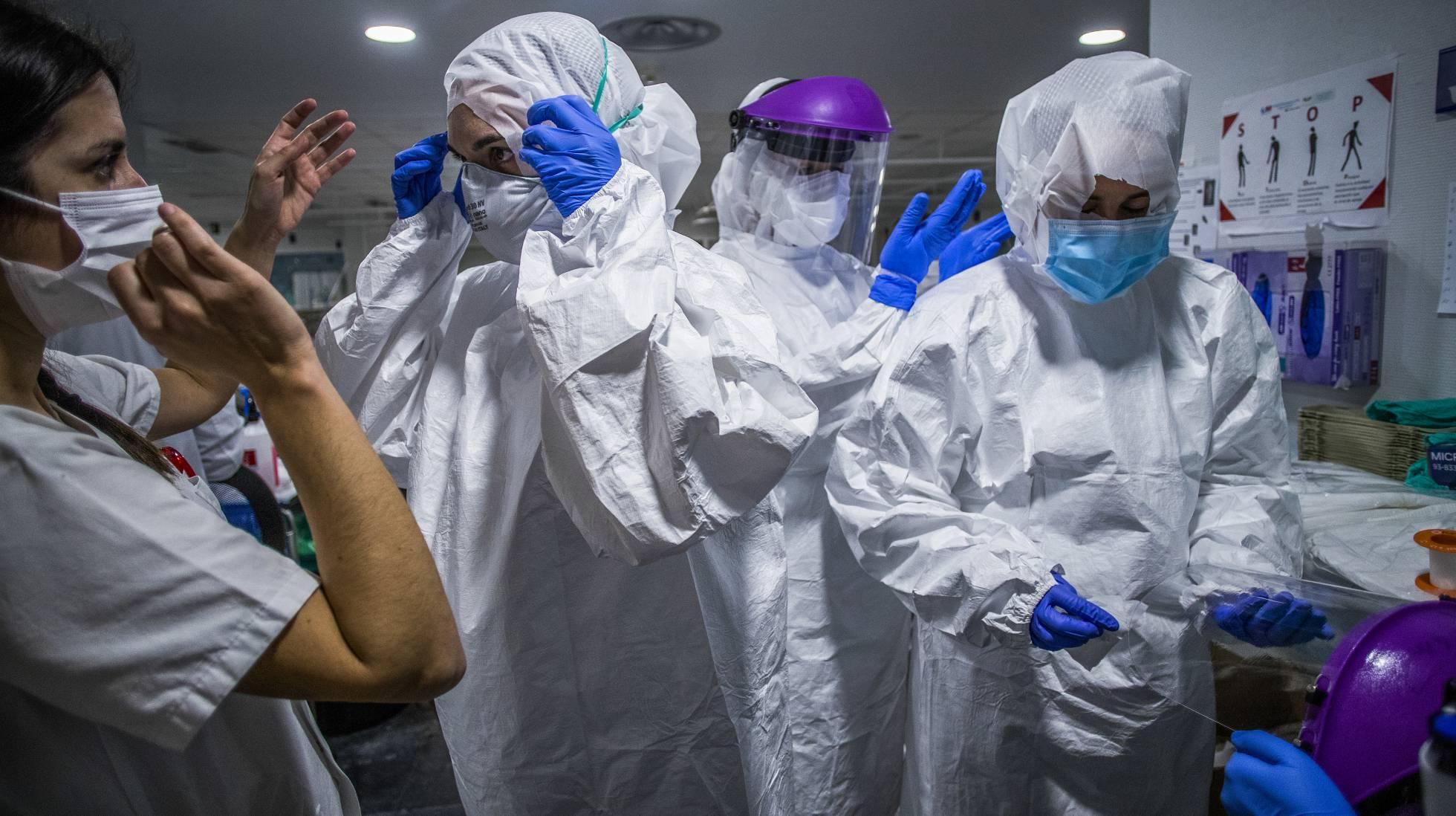 en los centros sanitarios escasean insumos medicos y de bioseguridad