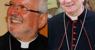 Mons. Aldo Giordano y Card. Pietro Parolin